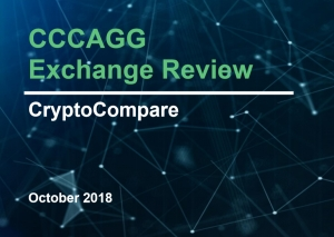 CRYPTOCOMPARE PUBLISHES LATEST MONTHLY EXCHANGE REVIEW